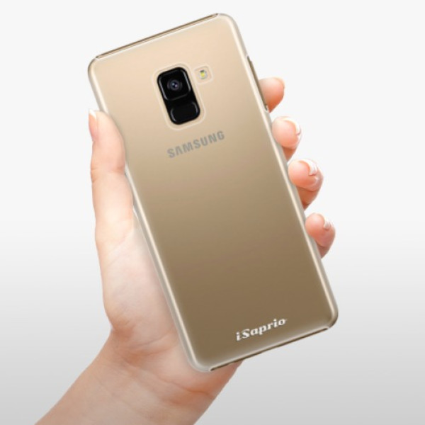 Plastové pouzdro iSaprio - 4Pure - mléčný bez potisku - Samsung Galaxy A8 2018