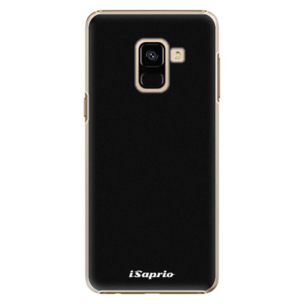 Plastové pouzdro iSaprio - 4Pure - černý - Samsung Galaxy A8 2018