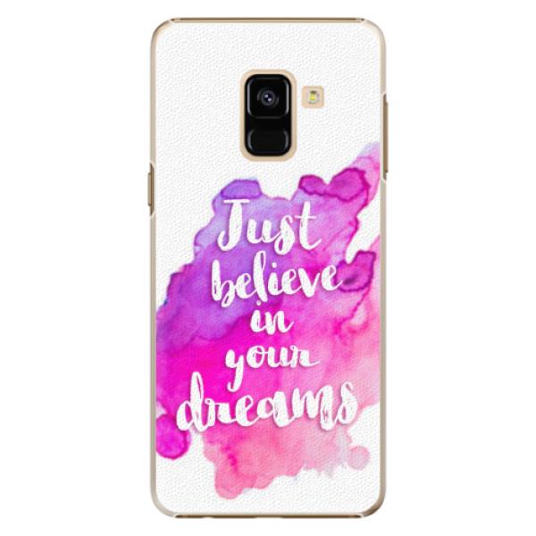 Plastové pouzdro iSaprio - Believe - Samsung Galaxy A8 2018