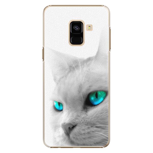 Plastové pouzdro iSaprio - Cats Eyes - Samsung Galaxy A8 2018