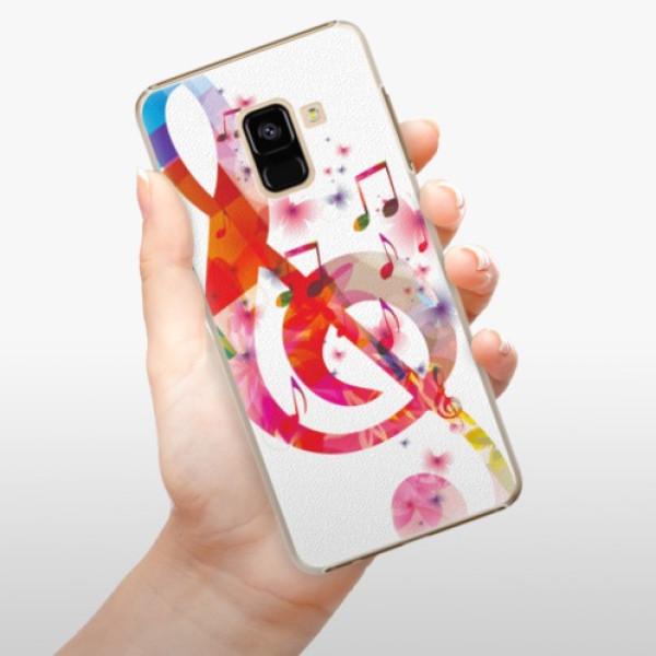 Plastové pouzdro iSaprio - Love Music - Samsung Galaxy A8 2018