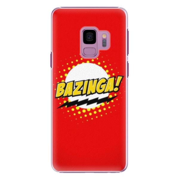 Plastové pouzdro iSaprio - Bazinga 01 - Samsung Galaxy S9