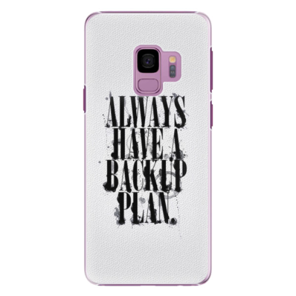 Plastové pouzdro iSaprio - Backup Plan - Samsung Galaxy S9