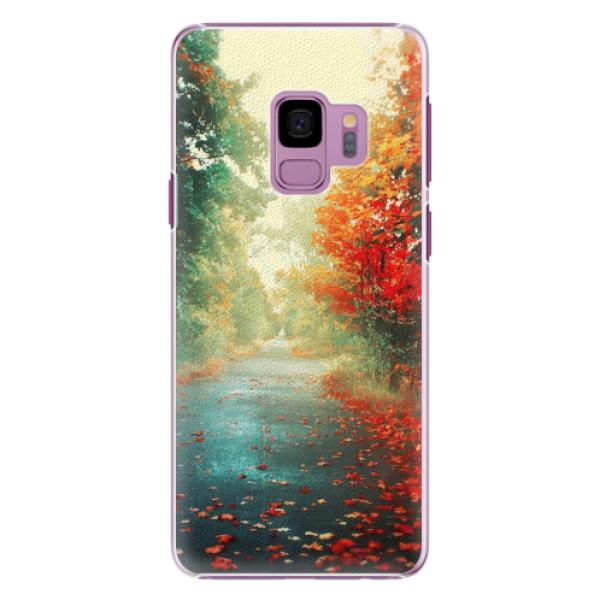 Plastové pouzdro iSaprio - Autumn 03 - Samsung Galaxy S9