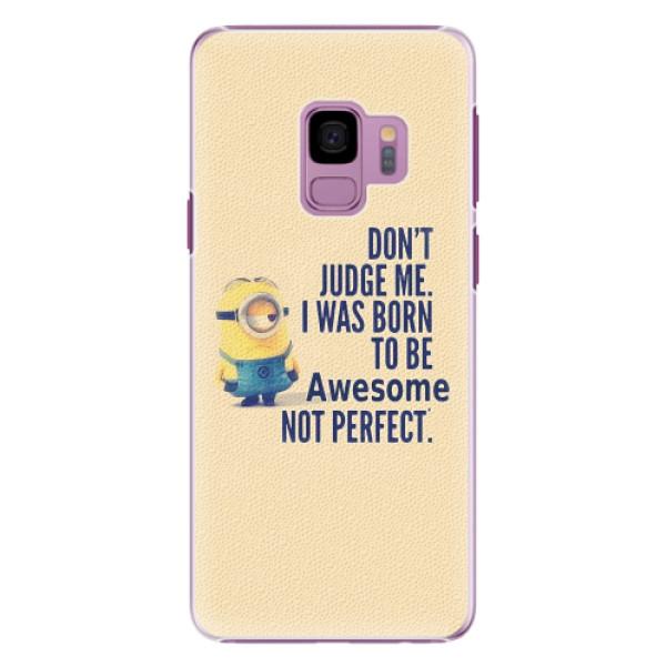 Plastové pouzdro iSaprio - Be Awesome - Samsung Galaxy S9