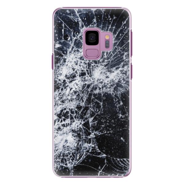 Plastové pouzdro iSaprio - Cracked - Samsung Galaxy S9