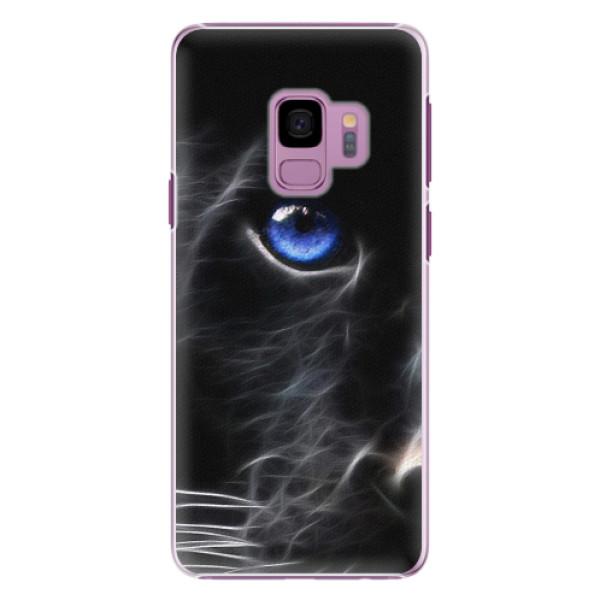 Plastové pouzdro iSaprio - Black Puma - Samsung Galaxy S9