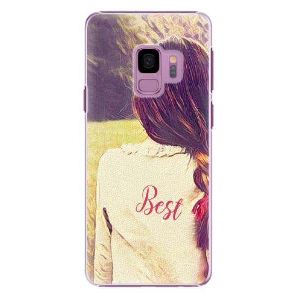 Plastové pouzdro iSaprio - BF Best - Samsung Galaxy S9