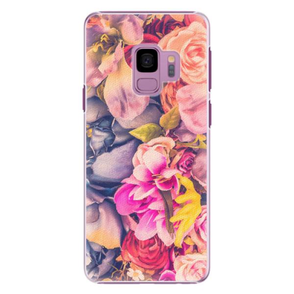 Plastové pouzdro iSaprio - Beauty Flowers - Samsung Galaxy S9