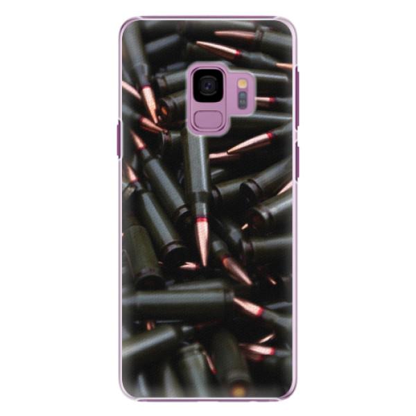 Plastové pouzdro iSaprio - Black Bullet - Samsung Galaxy S9