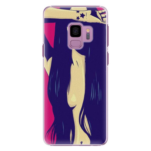 Plastové pouzdro iSaprio - Cartoon Girl - Samsung Galaxy S9