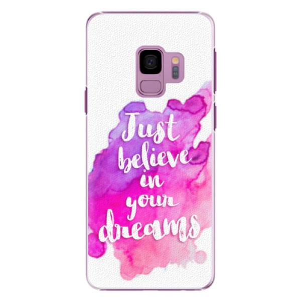 Plastové pouzdro iSaprio - Believe - Samsung Galaxy S9