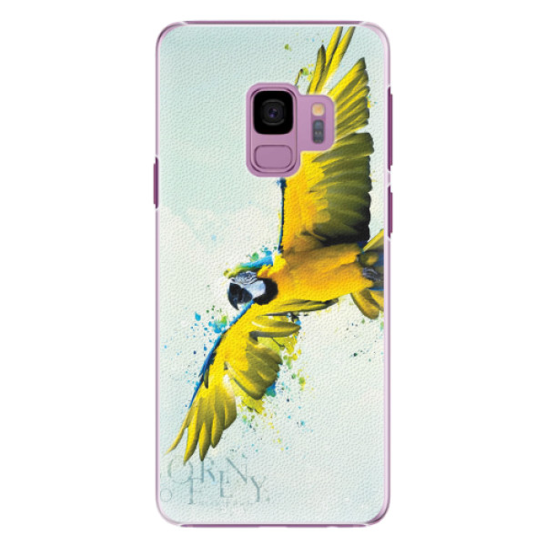 Plastové pouzdro iSaprio - Born to Fly - Samsung Galaxy S9