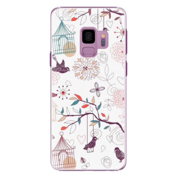 Plastové pouzdro iSaprio - Birds - Samsung Galaxy S9