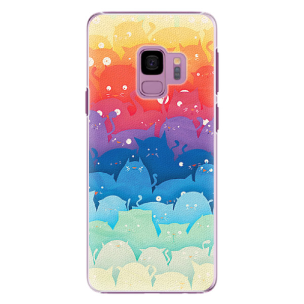 Plastové pouzdro iSaprio - Cats World - Samsung Galaxy S9
