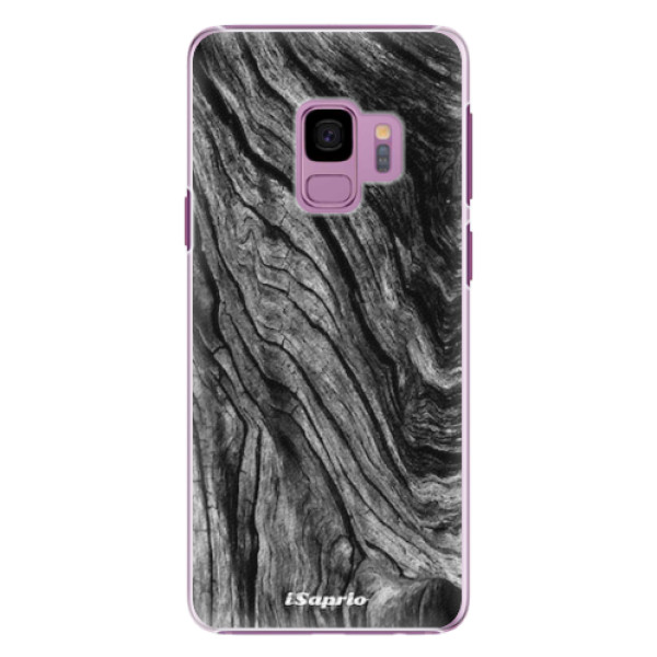 Plastové pouzdro iSaprio - Burned Wood - Samsung Galaxy S9
