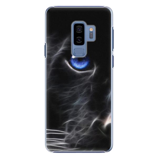 Plastové pouzdro iSaprio - Black Puma - Samsung Galaxy S9 Plus