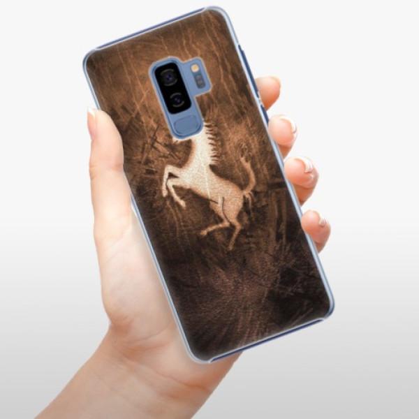 Plastové pouzdro iSaprio - Vintage Horse - Samsung Galaxy S9 Plus
