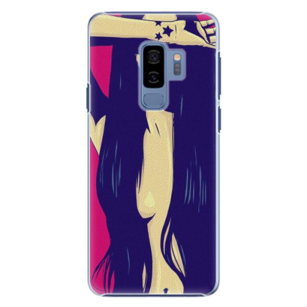 Plastové pouzdro iSaprio - Cartoon Girl - Samsung Galaxy S9 Plus