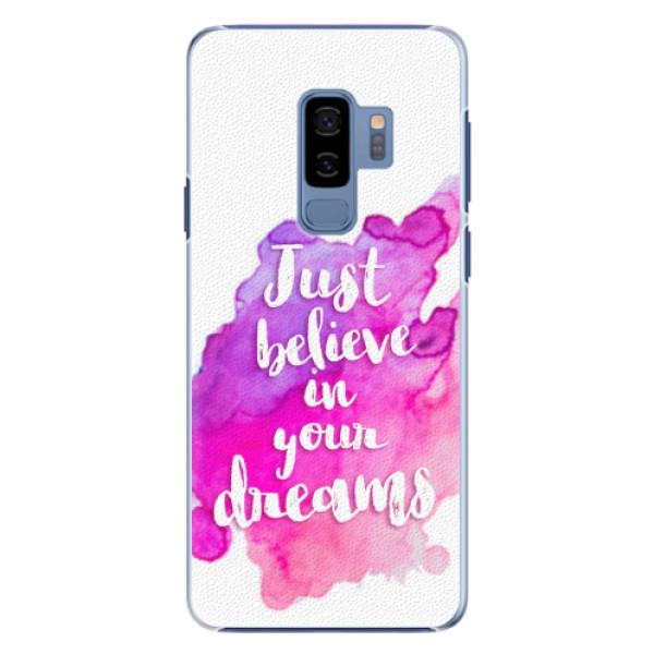 Plastové pouzdro iSaprio - Believe - Samsung Galaxy S9 Plus