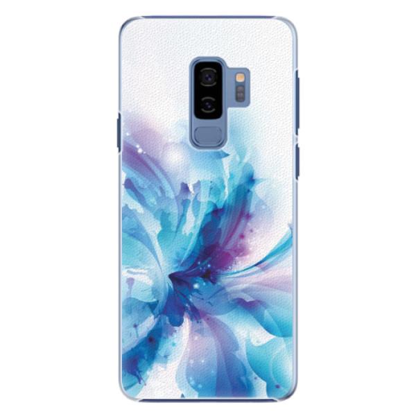 Plastové pouzdro iSaprio - Abstract Flower - Samsung Galaxy S9 Plus
