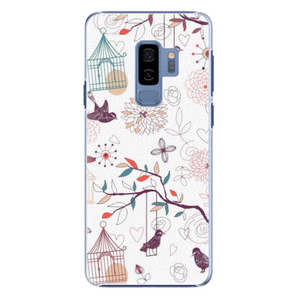 Plastové pouzdro iSaprio - Birds - Samsung Galaxy S9 Plus
