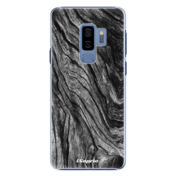 Plastové pouzdro iSaprio - Burned Wood - Samsung Galaxy S9 Plus