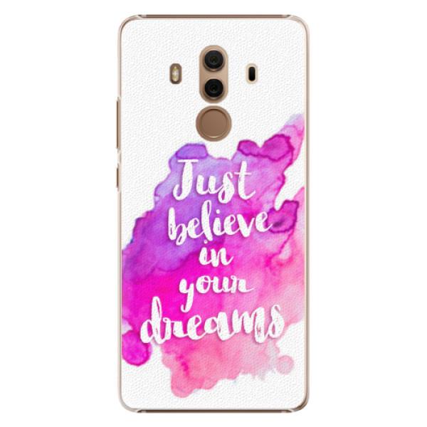 Plastové pouzdro iSaprio - Believe - Huawei Mate 10 Pro