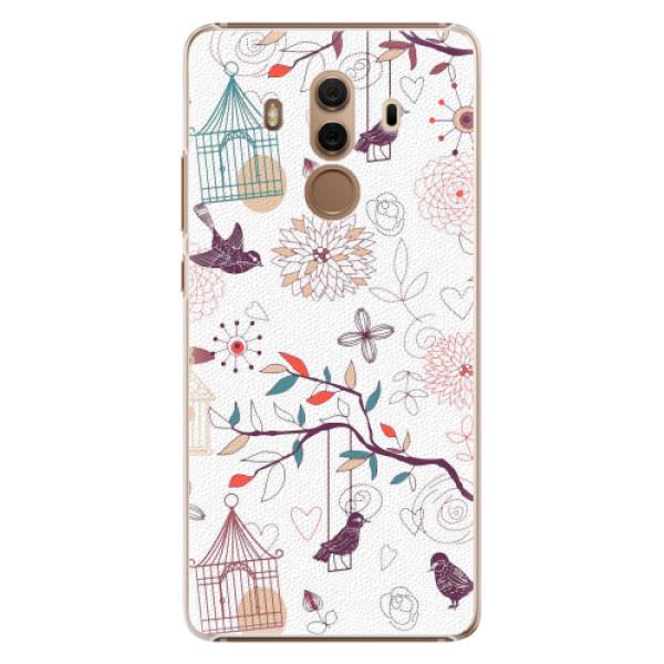 Plastové pouzdro iSaprio - Birds - Huawei Mate 10 Pro