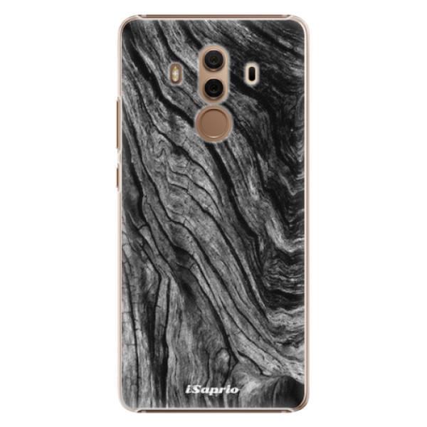 Plastové pouzdro iSaprio - Burned Wood - Huawei Mate 10 Pro
