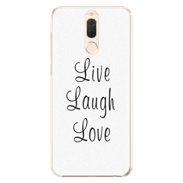 Plastové pouzdro iSaprio - Live Laugh Love - Huawei Mate 10 Lite