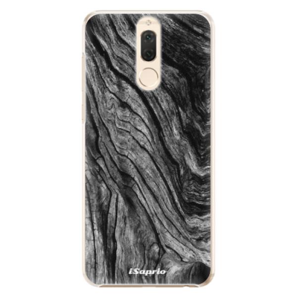 Plastové pouzdro iSaprio - Burned Wood - Huawei Mate 10 Lite