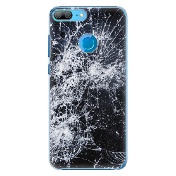 Plastové pouzdro iSaprio - Cracked - Huawei Honor 9 Lite