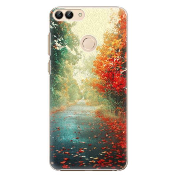 Plastové pouzdro iSaprio - Autumn 03 - Huawei P Smart