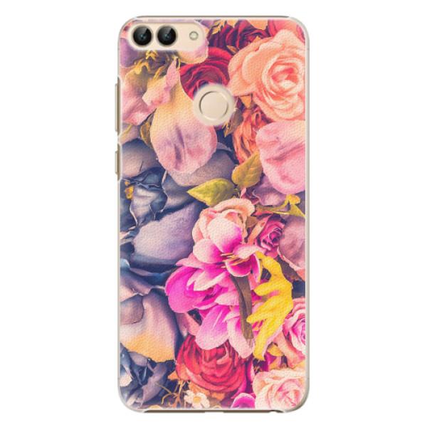 Plastové pouzdro iSaprio - Beauty Flowers - Huawei P Smart