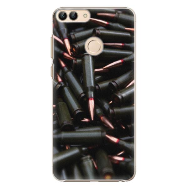 Plastové pouzdro iSaprio - Black Bullet - Huawei P Smart
