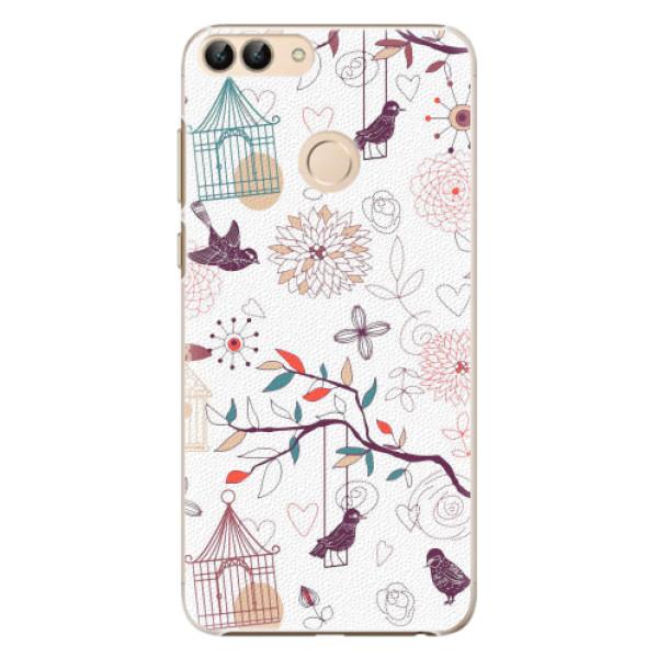 Plastové pouzdro iSaprio - Birds - Huawei P Smart