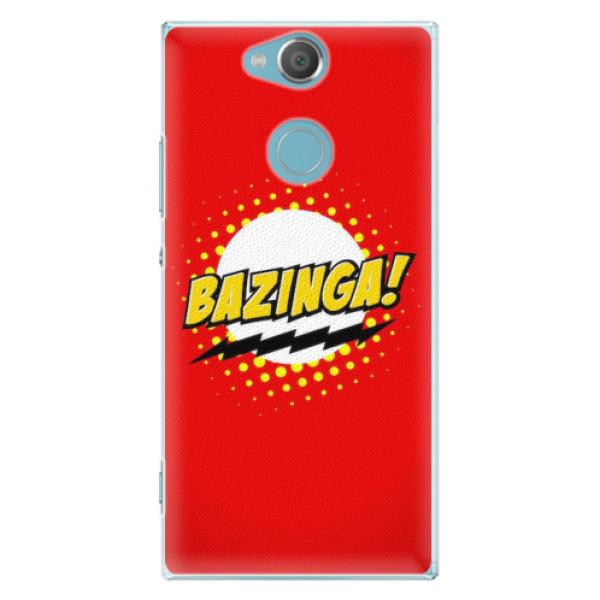 Plastové pouzdro iSaprio - Bazinga 01 - Sony Xperia XA2