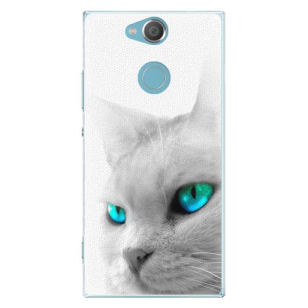 Plastové pouzdro iSaprio - Cats Eyes - Sony Xperia XA2