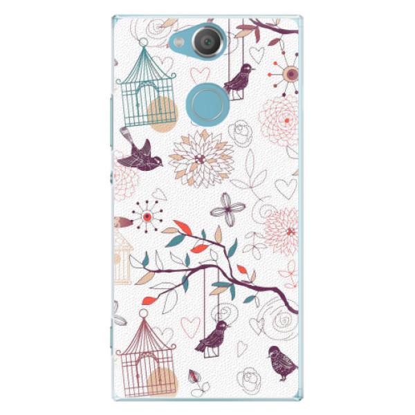 Plastové pouzdro iSaprio - Birds - Sony Xperia XA2