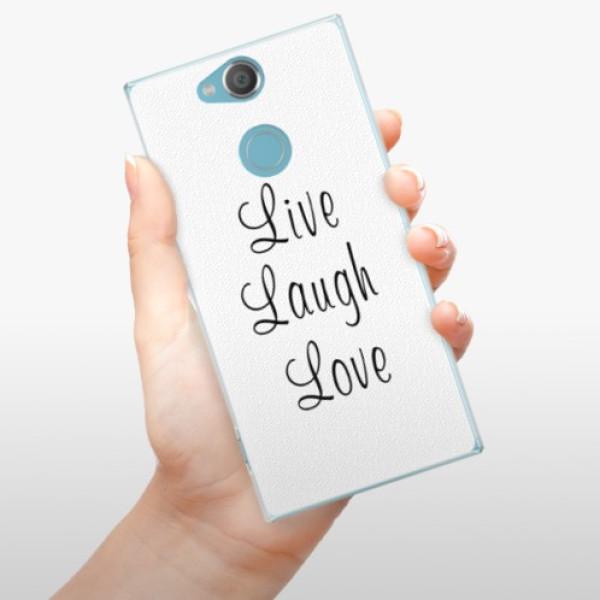 Plastové pouzdro iSaprio - Live Laugh Love - Sony Xperia XA2