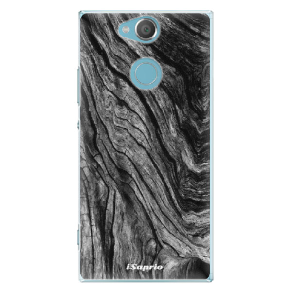 Plastové pouzdro iSaprio - Burned Wood - Sony Xperia XA2