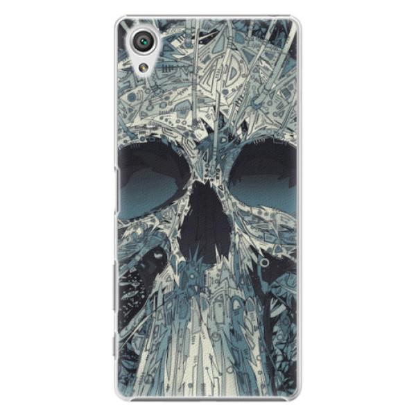 Plastové pouzdro iSaprio - Abstract Skull - Sony Xperia X