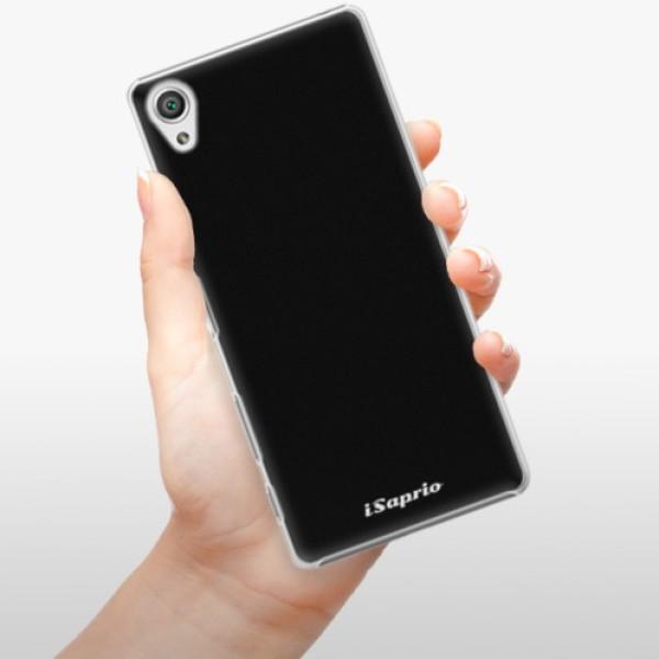 Plastové pouzdro iSaprio - 4Pure - černý - Sony Xperia X