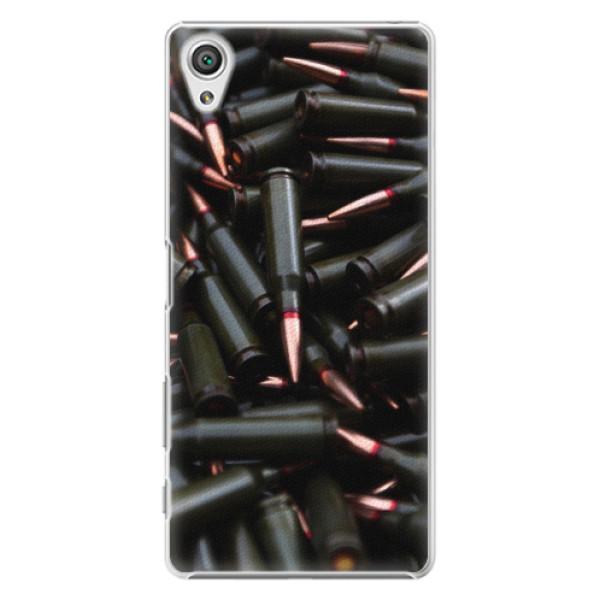 Plastové pouzdro iSaprio - Black Bullet - Sony Xperia X