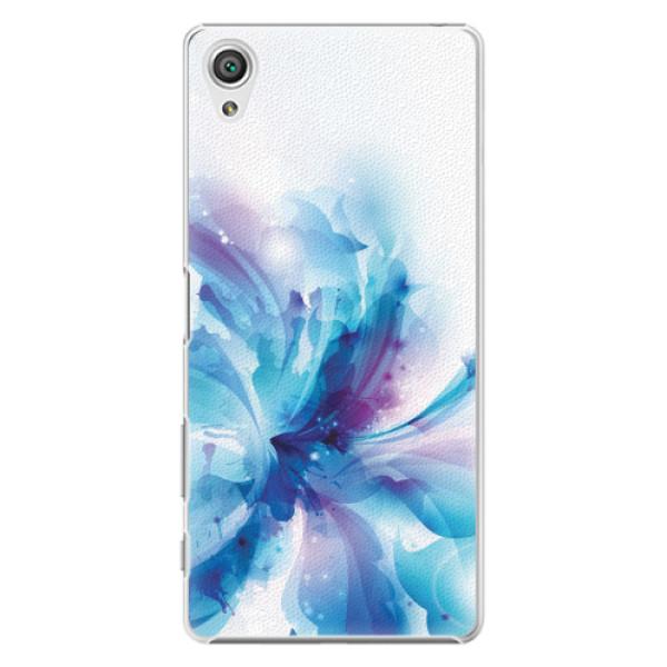 Plastové pouzdro iSaprio - Abstract Flower - Sony Xperia X