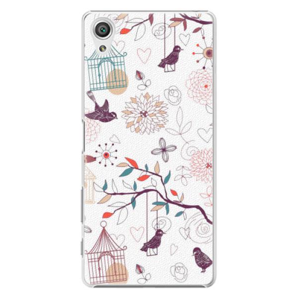 Plastové pouzdro iSaprio - Birds - Sony Xperia X