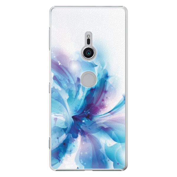 Plastové pouzdro iSaprio - Abstract Flower - Sony Xperia XZ2