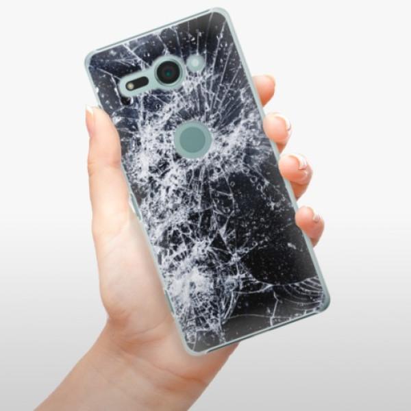 Plastové pouzdro iSaprio - Cracked - Sony Xperia XZ2 Compact