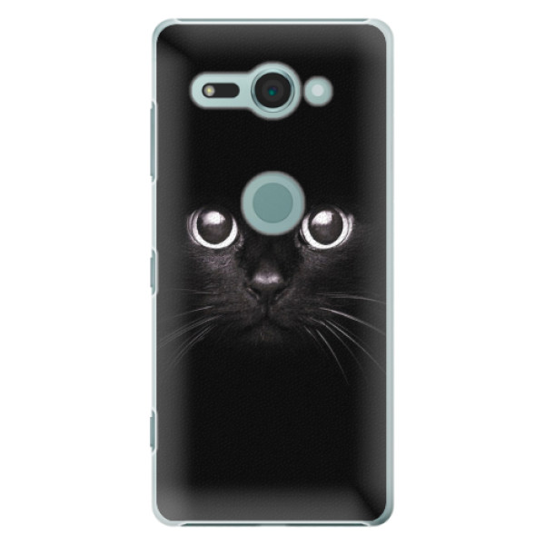 Plastové pouzdro iSaprio - Black Cat - Sony Xperia XZ2 Compact